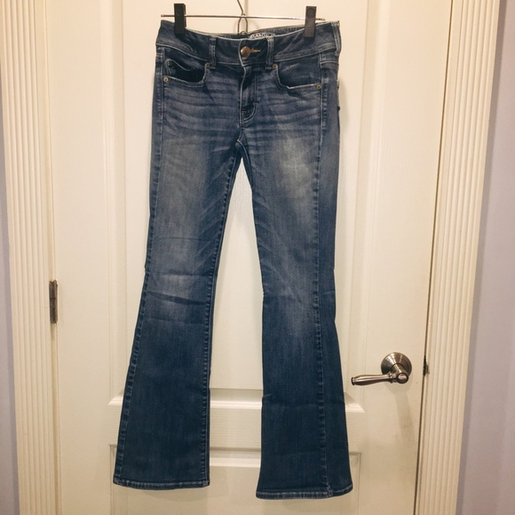 American Eagle Outfitters Denim - american eagle kick boot super stretch jeans